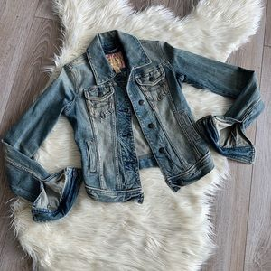 Vintage Denim jacket - Abercrombie and Fitch